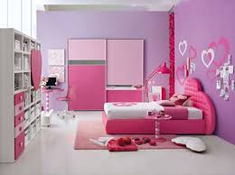 Teen Girls Bedroom Ideas With Pink And Purple Color For