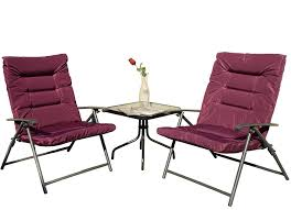 Amazon.com : Kozyard Elsa 3 Pieces Outdoor Patio Furniture Padded ... Z Lite Folding Chairs Sports Directors Chair Camping Summit Padded Outdoor Rocker World Lounge Zero Gravity Patio With Cushion Amazoncom Core 40021 Equipment Hard Arm Gci Freestyle Rocking Paul Bunyans High Back Lawn Duluth Trading Company Kids White Resin Lel1kgg Bizchaircom For Heavy People Big Shop For Phi Villa 3 Pc Soft Set Ozark Trail Xxl Director Side Table Red At Lowescom