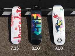 Board Sizing Guide • AYLESBURY SKATEBOARDS