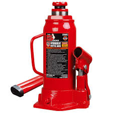 Floor Joist Jack Menards by Big Red 20 Ton Low Profile Bottle Jack T92007a The Home Depot