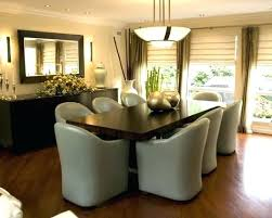 Dining Room Buffet Decor Using A Variety Of Table Modern Classic