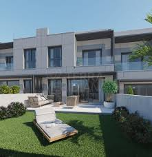 100 Modern Townhouses Brand New Deluxe 3 Bedroom Townhouse With Private Garden For Sale In Vanian Valley New Golden Mile Estepona