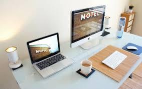 apple bureau idee decoration bureau macbook workspace inspiration