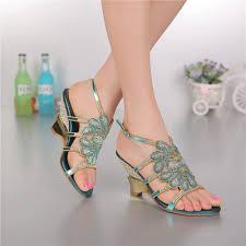 online get cheap rhinestone evening sandals aliexpress com