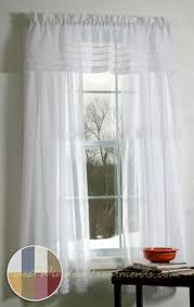Gold And White Window Curtains by Galaway Sheer Curtain Panel In White Ivory Gold Raspberry And