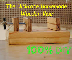 How To Build A Wooden Drill Press Vise