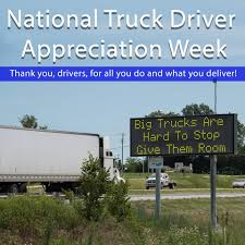 It's National Truck Driver Appreciation... - Missouri Department Of ... 2016 National Truck Driver Appreciation Week Recap Odyssey Celebrating Eagle Highway Heroes Its Shirt Southern Glazers Wine Spirits Recognizes Drivers During Archives Mile Markers Blogging The Road Ahead 18 Fun Facts You Didnt Know About Trucks Truckers And Trucking Freight Amsters Holland Professional Happy Youtube 2017 Drive For
