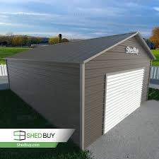 Double Garage 66m X 72m X 37mm Widespan Roller Door Shed Cream Or