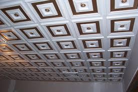 Antique Ceiling Tiles 24x24 by Deco Seashore Faux Tin Ceiling Tile Glue Up 24