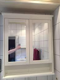 ikea hemnes bad spiegelschrank