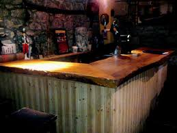 Rustic Bar Lighting Ideas