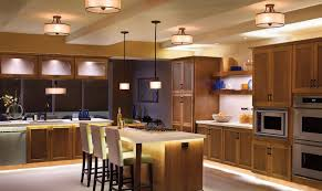 wonderful kitchen ceiling lights above large kitchen with wooden