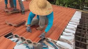 installation of monier roof tiles location petaling jaya