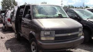 Chevrolet Astro Home Made Camper Conversion At The Junk Yard