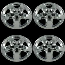 Details About Set Of 4 Chrome 17