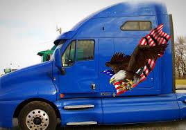 100 Truck Decals And Graphics Bald Eagle Semi Xtreme Digital GraphiX