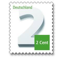 Briefmarken Auf Brief Kleben Briefe Beschriften Post Brief