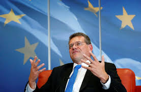 100 Sefcovic EUs Warns Fellow Easterners On Laws EU Funds Reuters
