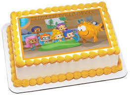 Bubble Guppies Cake Decorations by Bubble Guppies 1 Edible Cake And Cupcake Topper U2013 Edible Prints On