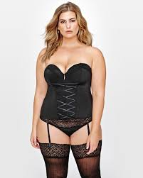 ashley graham corset addition elle