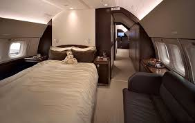 Do private jets have beds