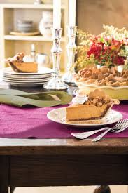 Pumpkin Pie With Pecan Praline Topping by Splurge Worthy Thanksgiving Dessert Recipes Southern Living