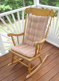 100 Greendale Jumbo Rocking Chair Cushion Relaxing With S To Feel The Comfort All