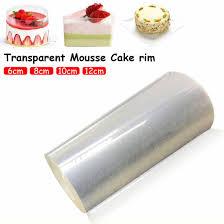 einstellbare mousse ring runde form mousse kuchen rand kragen küche zubehör diy backen werkzeuge kuchen dessert dekoration