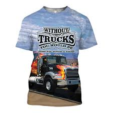 100 Mack Truck T Shirts 3D All Over Printed Fire And Shorts Monkstars Inc