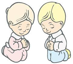Praying Kids Clipart