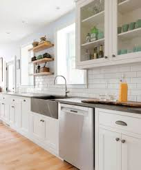 Modern Farmhouse Kitchen Backsplash Farmhouse Backsplash Houzz