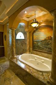 Tuscan Style Bathroom Decor by The 25 Best Brown Mediterranean Bathrooms Ideas On Pinterest