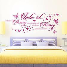 details about wandtattoo liebe ist in deinen armen einzuschlafen spruch paare schlafzimmer