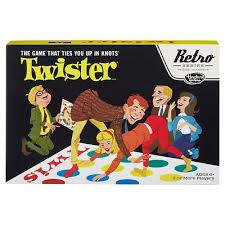 Twister 1966 Edition Retro Board Game