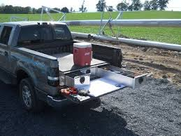 Aluminum Truck Bed Tool Boxes with Drawers for Pickups