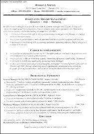 Waiter Resume Sample Simple Resume Template