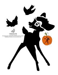 Disney Pumpkin Carving Patterns Villains by Classic Disney Pumpkin Stencils Disney U0027s Bambi Jack O U0027 Lantern