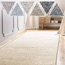 casa pura teppich läufer sundae meterware teppichläufer für wohnzimmer flur küche usw kuschlig weich mit stufenmatten kombinierbar creme