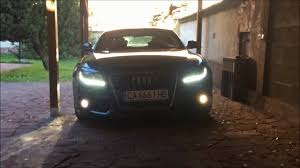 how to change the fog lights of audi a5 coupe sportback and a4