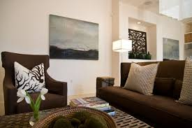 Turquoise White And Brown Living Room Eclectic With Hable Construction