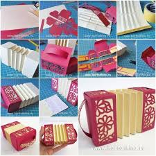 How To Make Paper Harmonica Box Step By Image 940332 Smary832