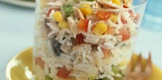 cuisine salade de riz salade de riz facile et pas cher recette sur cuisine actuelle