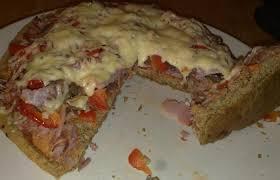 pâte à pizza moelleuse recette dukan pp par karineo recettes et