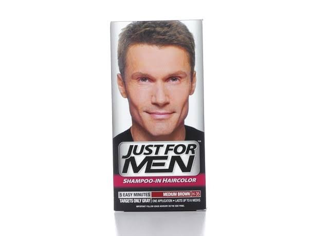 Just For Men Original Formula Men's Hair Color - Medium Brown, 3 Count