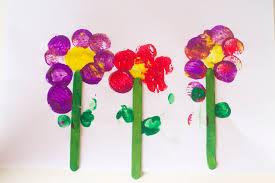 Spring Flower Crafts For Preschoolers Cordial Craft Business Ideas Idea Art As Wells Cr On Preschool