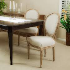 Wayfair Upholstered Dining Room Chairs by Furniture Contemporary Fabric White Parson Chairs For Decorating