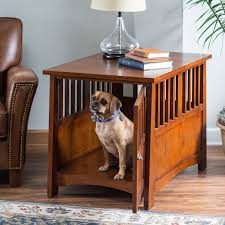 How To Build A End Table Dog Crate by Boomer U0026 George Trenton Pet Crate End Table Hayneedle