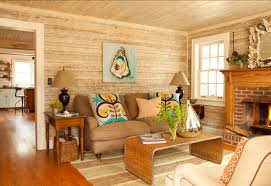 Download Rustic Brilliant White Rustic Cottage Living Room Wall