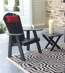 Red Adirondack Chairs Polywood by Brightly Colored Red Adirondack Polywood Porch Patio Lawn