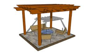 Slant Roof Shed Plans Free by Attached Pergola Plans Myoutdoorplans Free Woodworking Plans